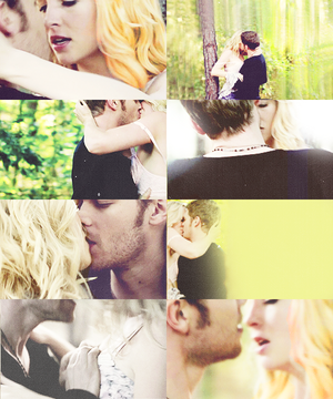 """Klaus and Caroline in """"Fifty Shade of Solitude"""""""