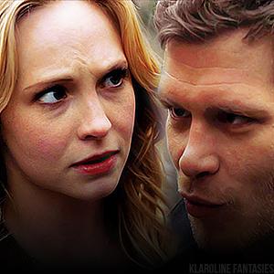 Klaus and Caroline icones