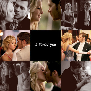 Klaus Mikaelson and Caroline Forbes