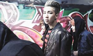 """BTS Rap Monster """"Skool Luv Affair""""!"""