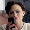 Lara Pulver as Irene Adler in Sherlock