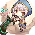 Chibi Riven - league-of-legends fan art