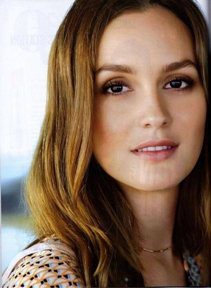 New Leighton Meester Interview for Cleo Magazine - Feb 2014.
