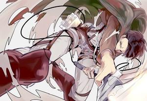 Levi~attack on titan