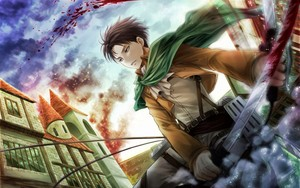 Levi~attack on titan