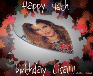 Happy 46th birthday Lisa ♥