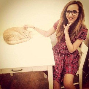 Jade and cat