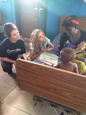Little Mix in Liberia