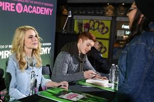 Lucy @ VA signing in LA