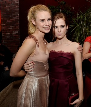 Lucy and Zoey at Vampire Academy premiere afterparty