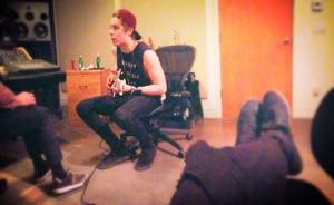 Recording new songs...