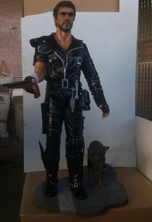 "1/3 scale (24"") Mad Max sculpture"