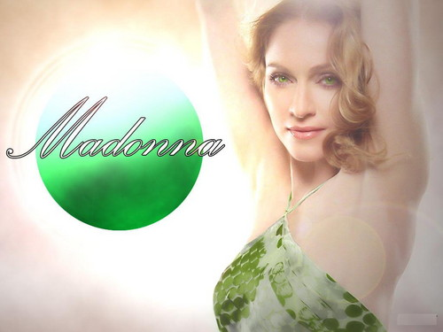 Madonna wolpeyper possibly with a portrait entitled Madonna