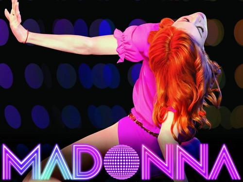 Madonna wolpeyper titled Madonna