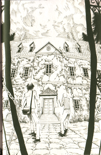 Manga Hintergrund with a straße entitled Gregory Horror Show: Another World