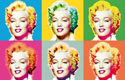 Marilyn Monroe Pop Art par Wyndham Boulter