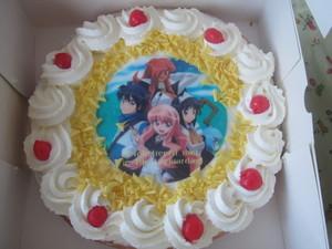 My anime birthday cake! =D