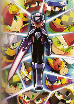 Megaman's Many Forms