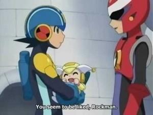 Megaman, Protoman, and Trill
