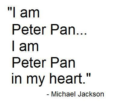 Michael's گیا پڑھا مرتبہ Pertaining To The Subject Of Peter Pan
