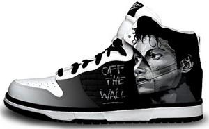 Michael Jackson Hi-Top Sneaker