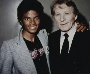 Michael Jackson With US Actor/singer Danny Kaye