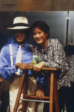 "Behind The Scenes In Making Of ""Moonwalker"""