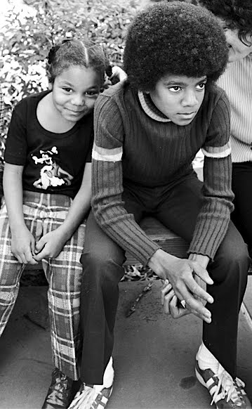 Michael And Janet As Children