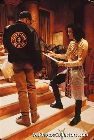 "Behind The Scenes In The Making Of ""Remember The Time"""