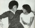 Michael And Stephanie Mills - michael-jackson photo
