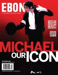 Michael On The 2009 Cover Of The Commemorative Issue Of EBONY Magazine
