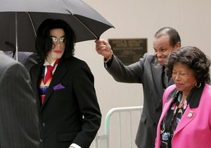 Michael With His Parents, Joseph And Katherine