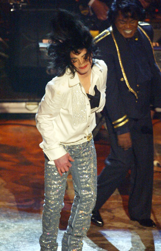 Michael Jackson wallpaper possibly with long trousers titled BET Awards 2003