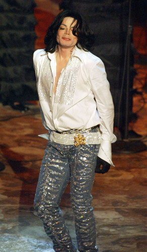 Michael Jackson wallpaper containing long trousers titled BET Awards 2003