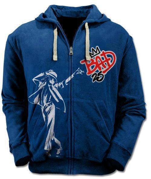"""25th"" Anniversary Edition Of ""Bad"" Windbreaker"