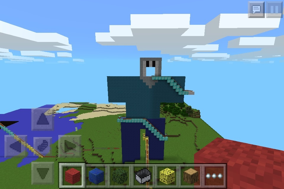 minecraft pocket edition images a character i made for my roller