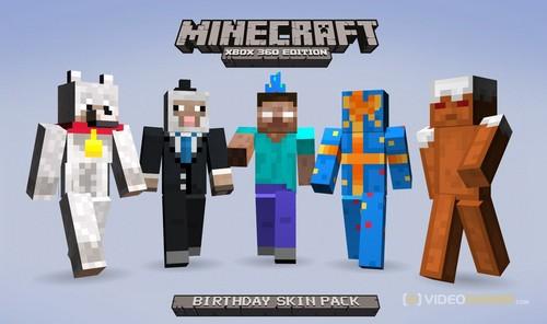 Minecraft Wallpaper Called Birthday Skins