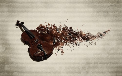 Musica wallpaper probably containing a violista called Violin wallpaper