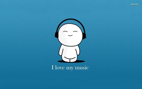 música fondo de pantalla called i amor música (true XD)