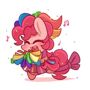 Cheerleader Pinkie Pie