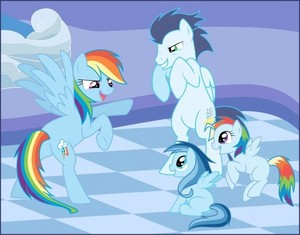 Soarin and Family <3
