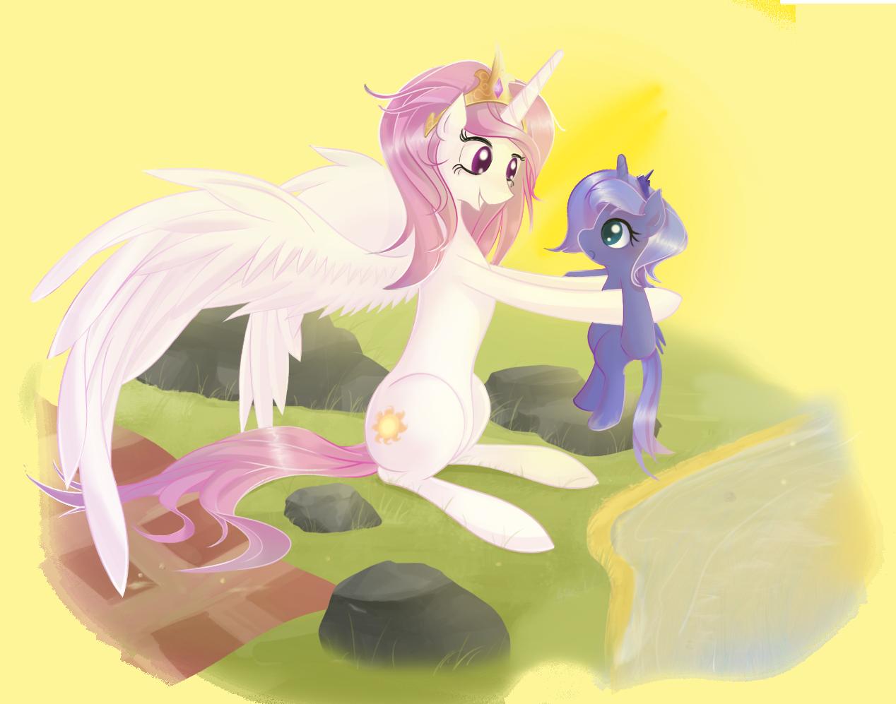 Celestia Holding Luna