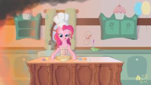 Pinkie Pie Baking