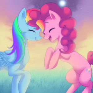 Rainbowdashh and Pinkie Pie