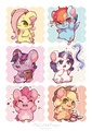Hamster Ponies - my-little-pony-friendship-is-magic fan art