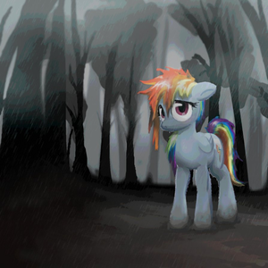 Sad Rainbow Dash-My Little Dashie