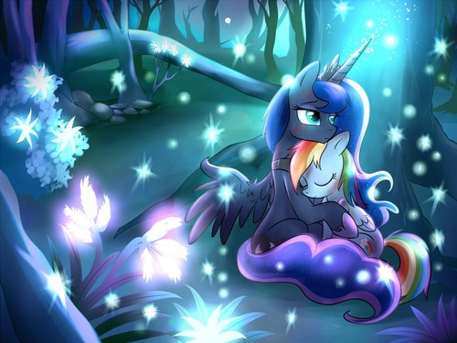 My Little Pony Friendship is Magic wallpaper titled LunaDash-Sad MLP Photos