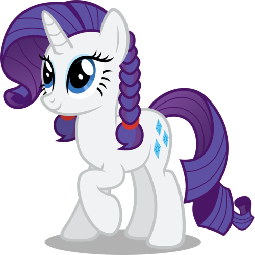 My Little Poney karatasi la kupamba ukuta entitled Rarity Is Cute