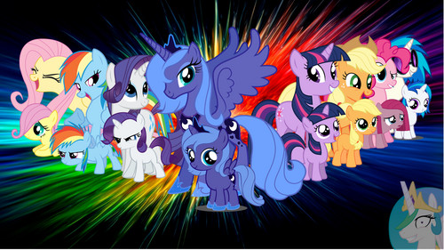 My Little pony Friendship is Magic achtergrond probably with a bezem entitled My Little pony Hd achtergrond