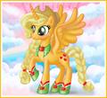 Applejack as an Alicorn